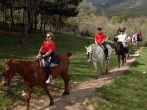 Paseos a caballo Madrid en Plena Naturaleza