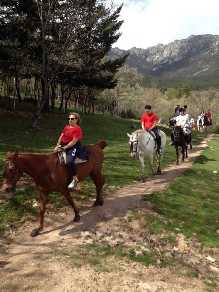 Rutas a caballo Madrid en plena naturaleza