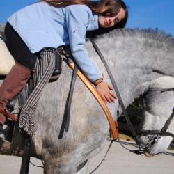 Montar a caballo por primera vez