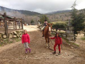 Cumpleaños y paseo a caballo