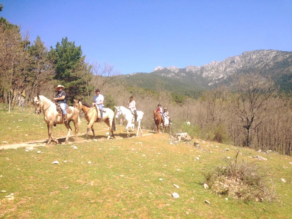Montar a caballo en Verano