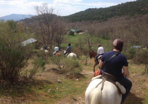 Monta a caballo en Madrid