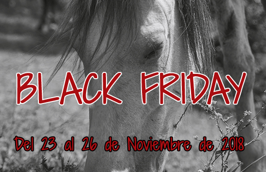 black friday montar a caballo
