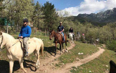 ven a montar a caballo madrid