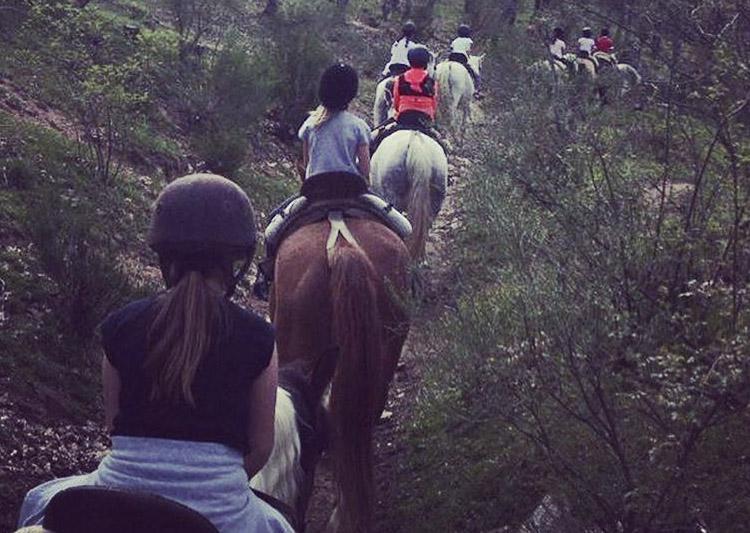 montar a caballo niños madrid