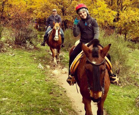 montar a caballo estas navidades